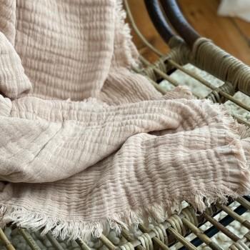 Plaid Nude Coton doux