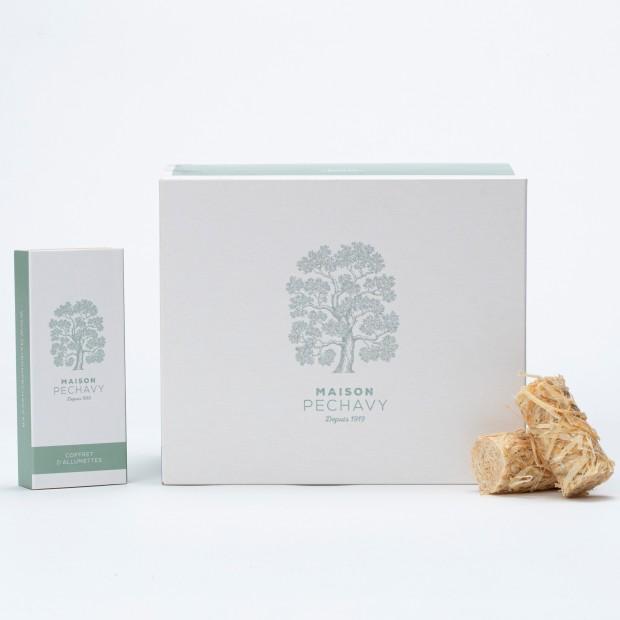 60 allume feux naturels collection douceur blanc vert céladon